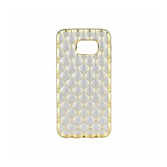 LUXURY - silikónový obal na Samsung GALAXY S6 EDGE (G925) gold