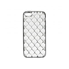 LUXURY - silikónový obal na iPhone 7 (4,7) black
