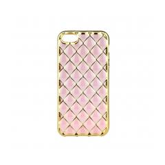 LUXURY - silikónový obal na iPhone 7 (4,7) rose gold
