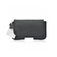 Forcell Case Leather 200A - Model 4 (APP iPhone 3G/4G/4S/SAM S5830 Galaxy Ace) black