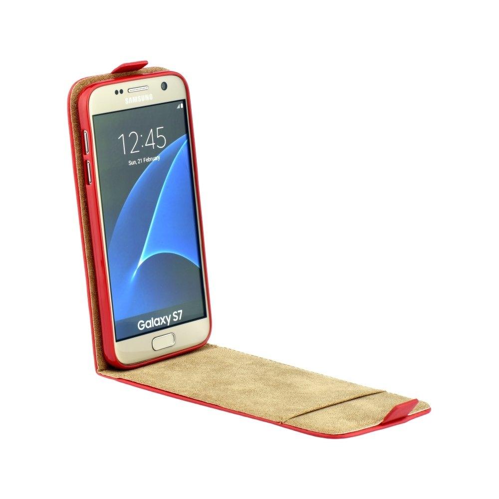 Flip Case Slim Flexi Fresh - Apple iPhone 7 Plus   8 Plus Red ... 03de739c676