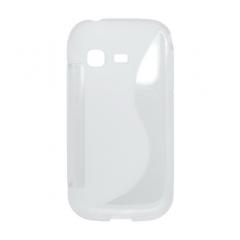 Puzdro gumené Samsung Chat biela