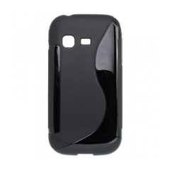 Puzdro gumené Samsung B5330  Chat čierna