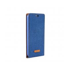 Flip Case Canvas Flexi Huawei P8 Blue