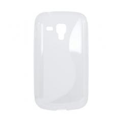 Puzdro gumené Samsung S7562 Galaxy S Duo transparent