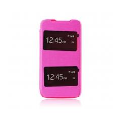 S-VIEW case with window - LG G3 mini ružové
