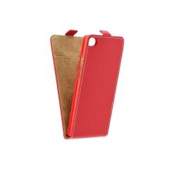 Flip fresh - Puzdro na Huawei Gr3/ Huawei P8 Lite smart    Red