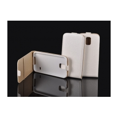 Puzdro flip POCKET slim Samsung N910 Galaxy Note 4 biele