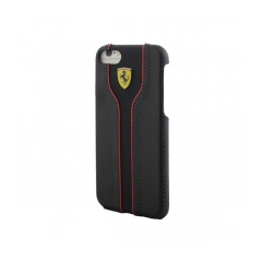 Original tvrdý kryt (obal) Ferrari FEST2HCP7BK Transparent Apple iPhone 7 black