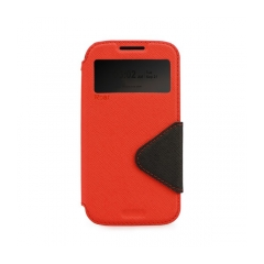 Roar Fancy Diary - puzdro pre Samsung Galaxy J1 red-black