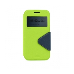 Roar Fancy Diary - puzdro pre Samsung Galaxy J1 green-navy blue