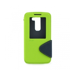 Roar Fancy Diary - puzdro pre LG G2 Mini green-navy blue